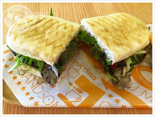 人帥真好早午餐-我最近吃到最棒的三明治