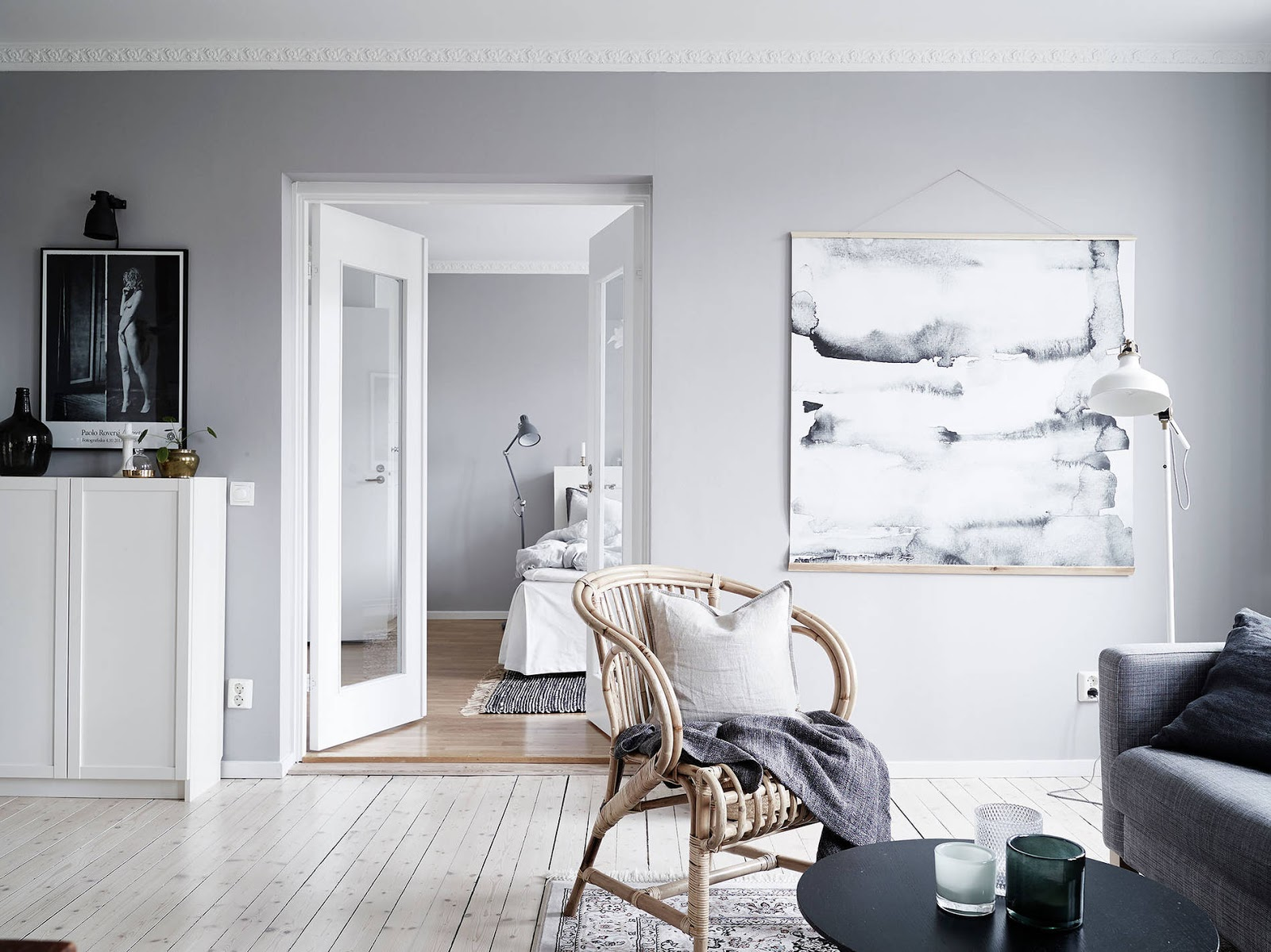 This dreamy scandinavian apartment will give you butterflies ...