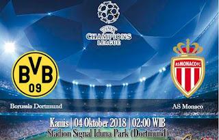 Prediksi Borussia Dortmund Vs AS Monaco 4 Oktober 2018