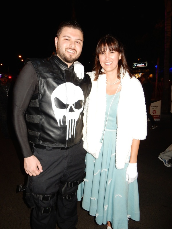 Punisher costume West Hollywood Halloween