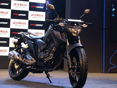 2017 Yamaha FZ25 black color