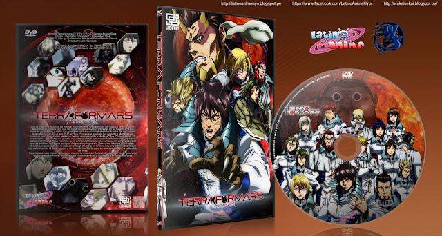 Terra Formars - SIN CENSURA | 13/13 + 2 Ovas | Cover DVD | Mkv HD | MEGA |
