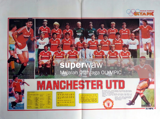 Full Team Manchester United 1982