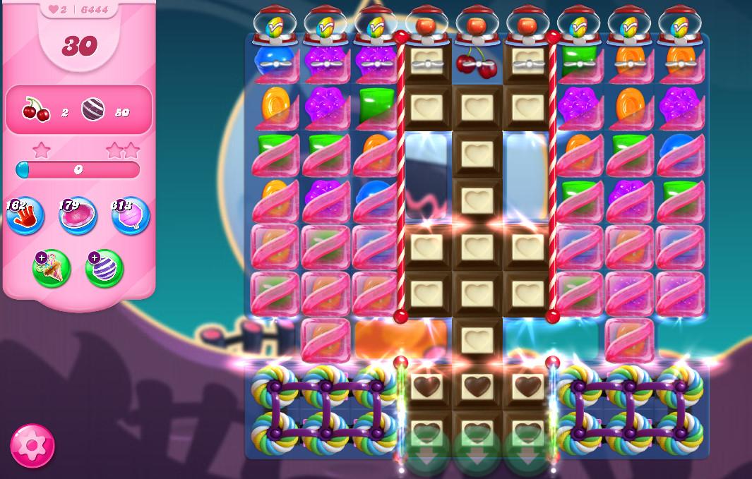 Candy Crush Saga level 6444