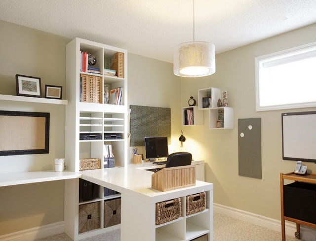 best white home office desk storage solutions design ideas