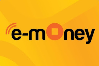 logo e money bank mandiri