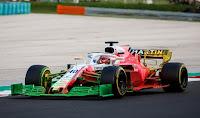 RObert Kubica Hungaroring test Williams F1 2018