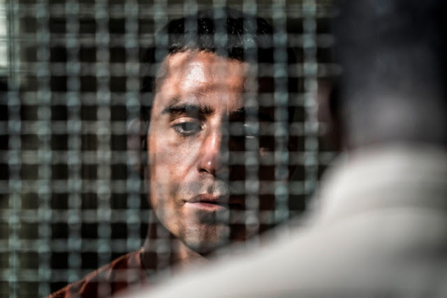 En el corredor de la muerte, Miguel ángel silvestre, primeras imágenes
