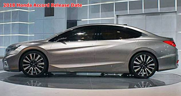 2018 Honda Accord Release Date