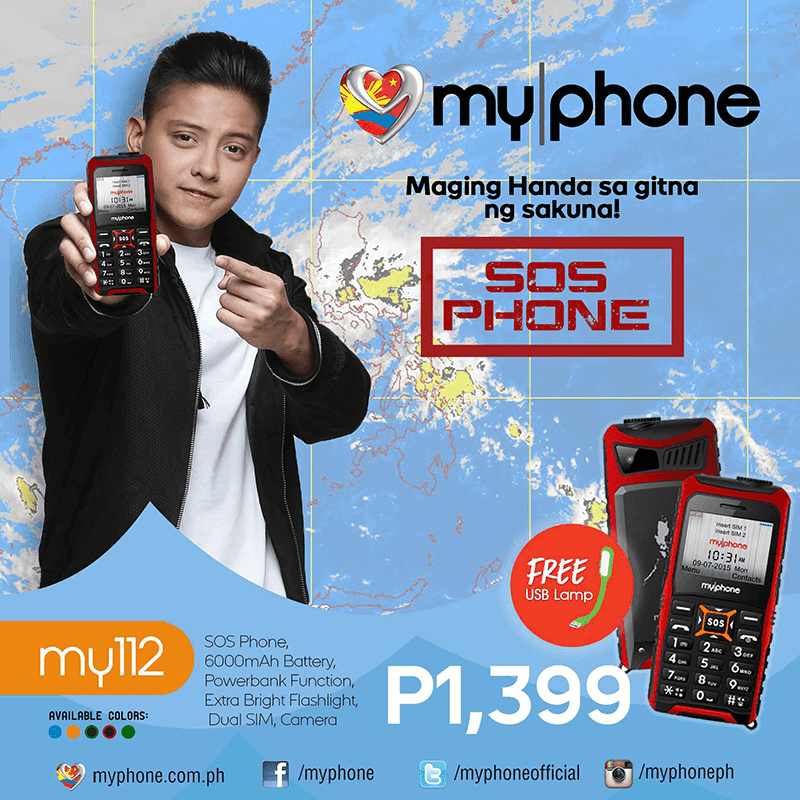 MyPhone My112 Announced, Priced At ! The Only Emergency Phone You Need!