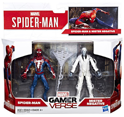 Hasbro Marvel Spider-Man Gamerverse Action Figures Spider-Man and Mister Negative