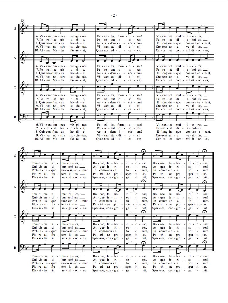 gaudeamus igitur lyrics download