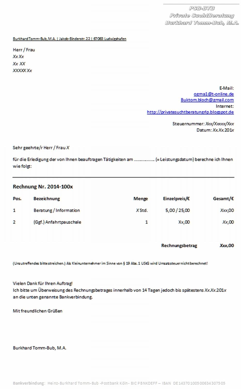 9ffca555f0e4e2 jetzt rechnung online schreiben rechnung muster 1. latex vorlagen fr ...