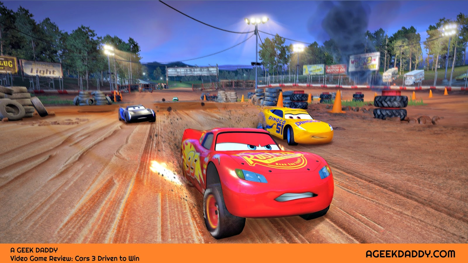 A GEEK DADDY: CARS 3 DRIVEN TO WIN VIDEO GAME