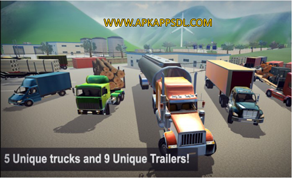 Download Truck Simulator 2016 Apk Mod v1.19 Full Version 2016