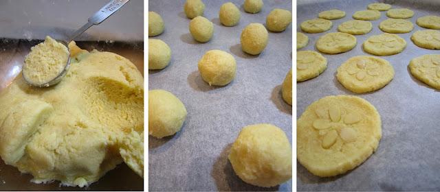 Pastas de coco y almendra (Siempredulces) - Elaboración Paso 2