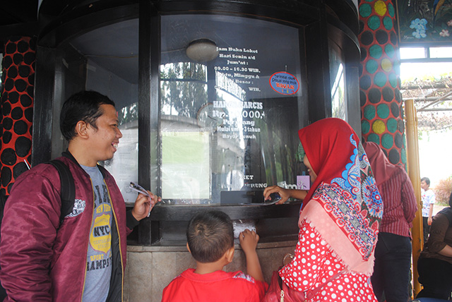Taman Burung, Taman Mini Indonesia Indah [TMII]