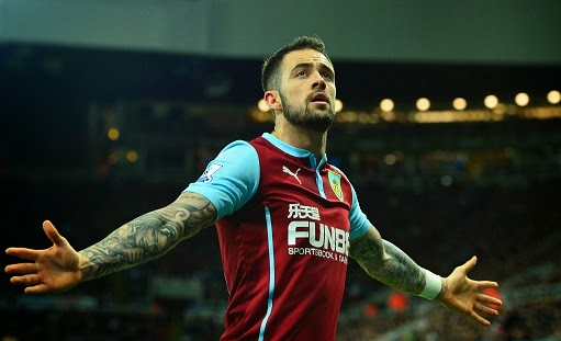 Chelsea want Burnley striker Danny Ings
