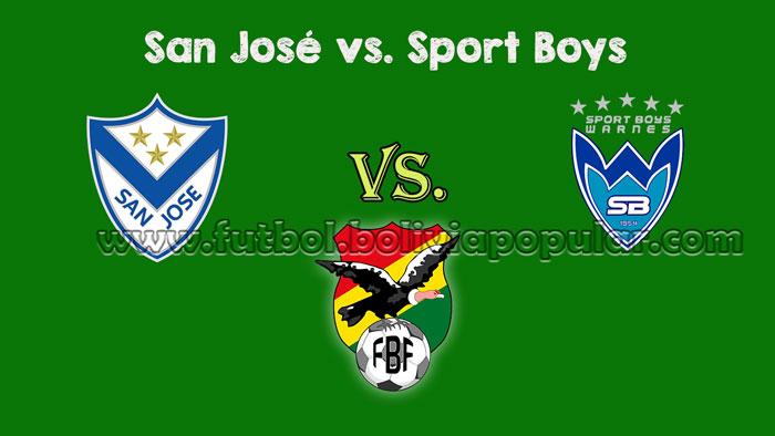 Ver San José vs. Sport Boys - En Vivo - Online - Torneo Clausura 2018