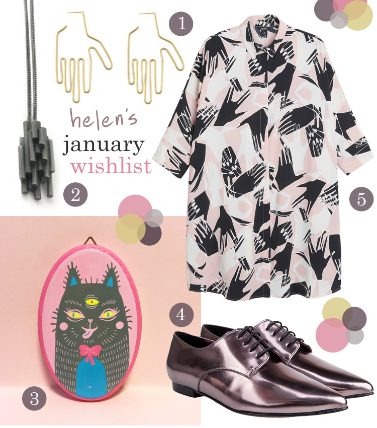 wishlist, wish list, January wishlist, blogger favourites, blogger picks, Monki, Beyond Skin, Madelen Foss Illustration, Beth Legg, Young Frankk