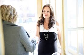 mulher entrevista de emprego