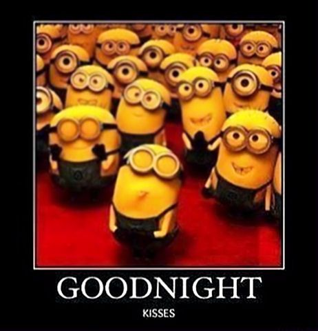 Funny Good Night Minions Wallpapers for Friends