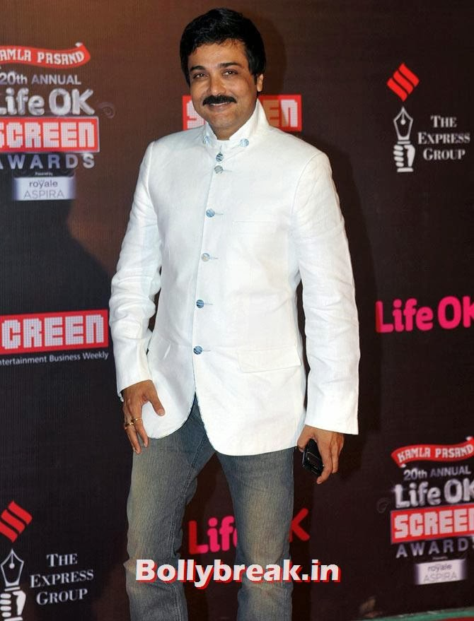 Prosenjit Chatterjee, Life Ok Screen Awards 2014 Red Carpet Photos