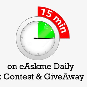 15 Minutes of eAskme Daily to Change Your Life : Contest & GiveAway : eAskme