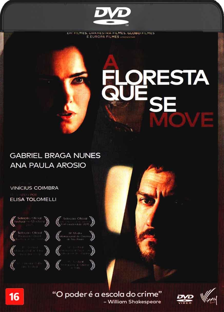 A Floresta Que Se Move (2016) DVD-R Oficial