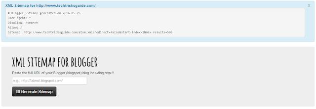 Generated XML Siteplan