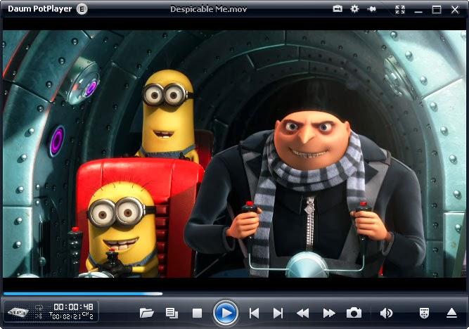 برنامج Daum Potplayer لتشغيل جميع صيغ الفيديو والصوت