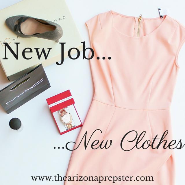 New Job, New Clothes