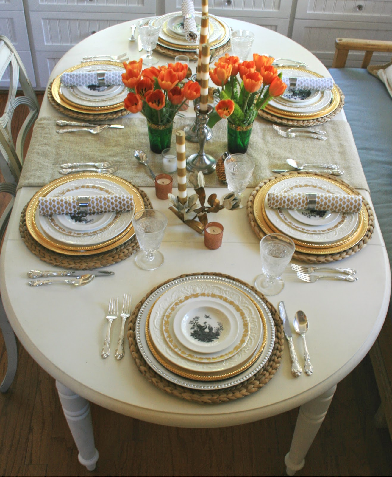 ciao! newport beach: my Thanksgiving table is all set !