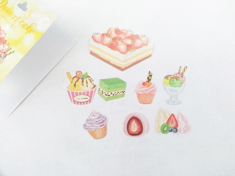 Stickers doces kawaii box