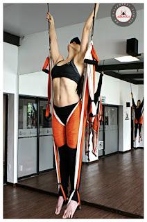 Curso Aero Yoga, Columpio, hamaca , trapeze