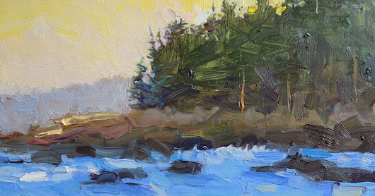 Rita Brace Paintings: Acadia Pines
