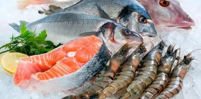 Makanan laut yang mengandung merkuri