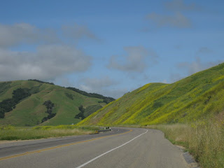 Highway 46 West near Cambria, California