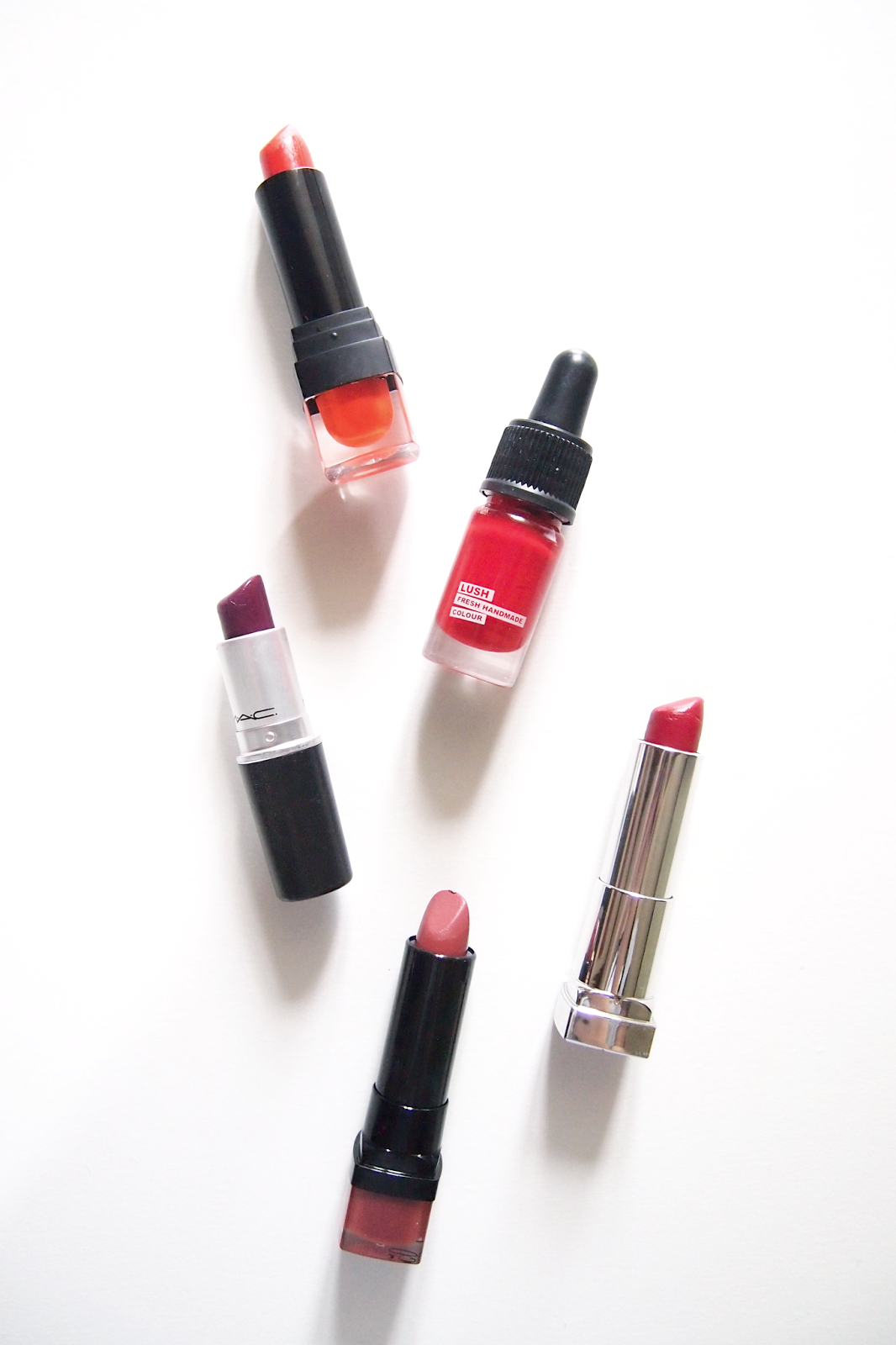 rljlowe | Best Drugstore Red Lipsticks