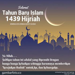 Dp Ucapan Tahun Baru Islam 1439 H