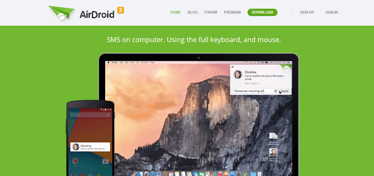 AirDroid Application