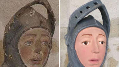 Συντηρητής κατέστρεψε θρησκευτικό άγαλμα ηλικίας πέντε αιώνων!