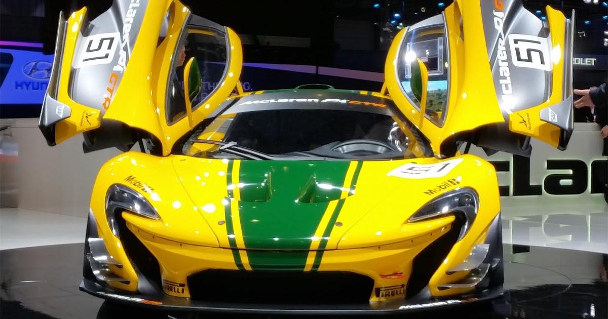 McLaren's Disco Inferno!