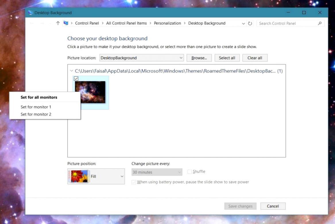 Windows 7 Desktop Background Two Monitors Wallpapers Land