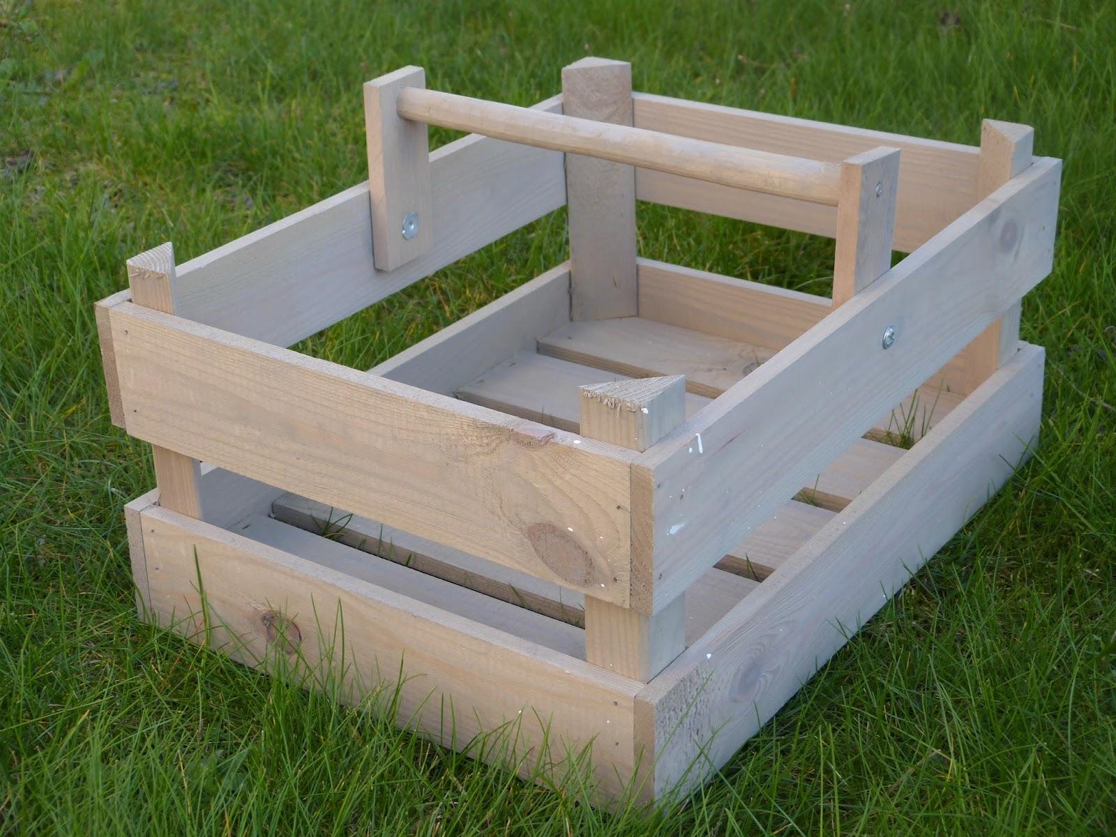 Renovando cesta de madera - Cestos de madera ...
