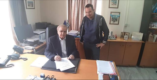 Πρέβεζα: Δήμος Πάργας, έπεσε η υπογραφή και για την υλοποίηση του έργου «Κατασκευή αποχετευτικού δικτύου oμβρίων υδάτων Δ.Ε. Φαναρίου»
