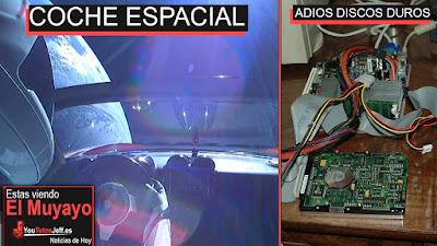 Coche en el espacio, noticias, intel, español, tecnologia, adios discos duros