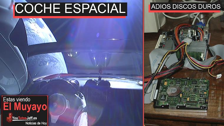 Un Tesla está Viajando por el Espacio, Reloj Inteligente, Intel, Sitio web terrible | El Muyayo