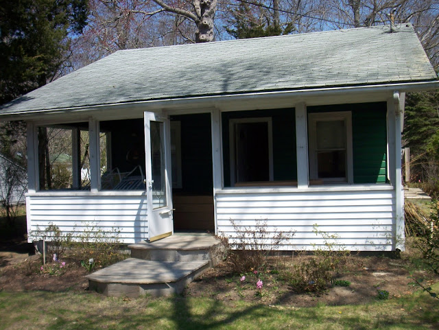 cottage porch windows installation