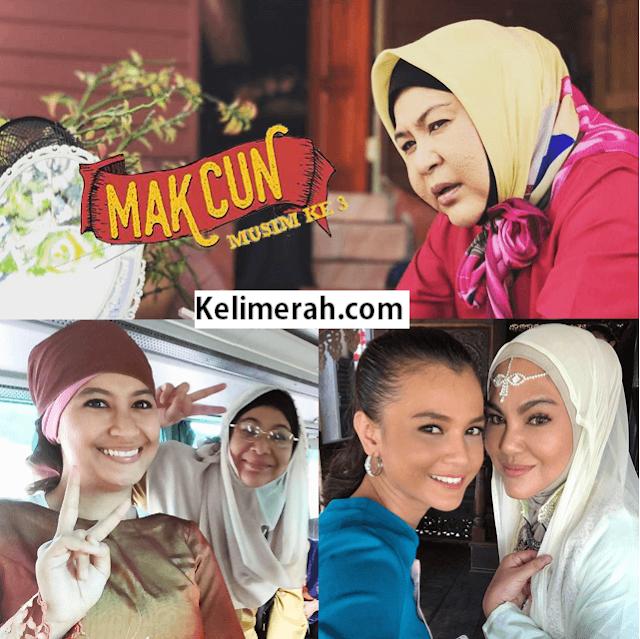 Drama Mak Cun 3 Lakonan Erma Fatima, Umie Aida